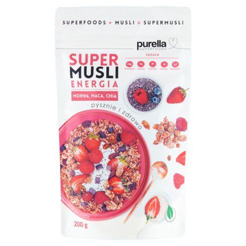 Purella Superfoods Supermusli energia 200 g