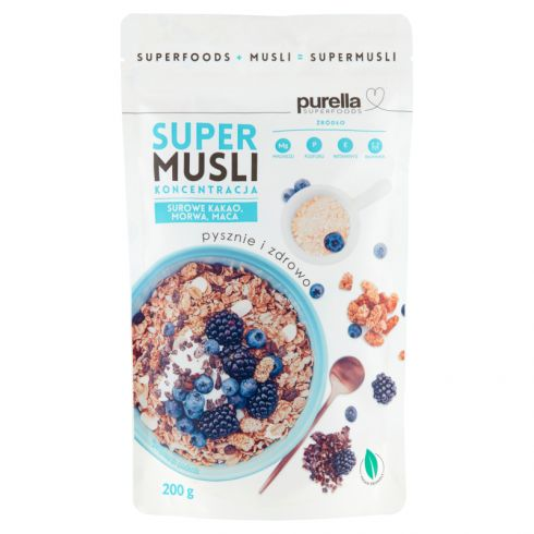 Purella Superfoods Supermusli koncentracja 200 g