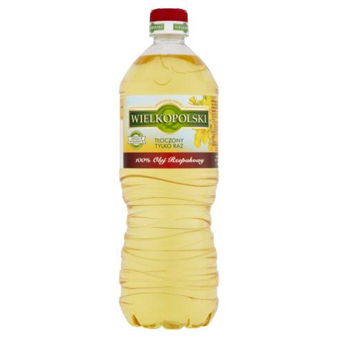 Wielkopolski Olej rzepakowy 100% 0,9 l