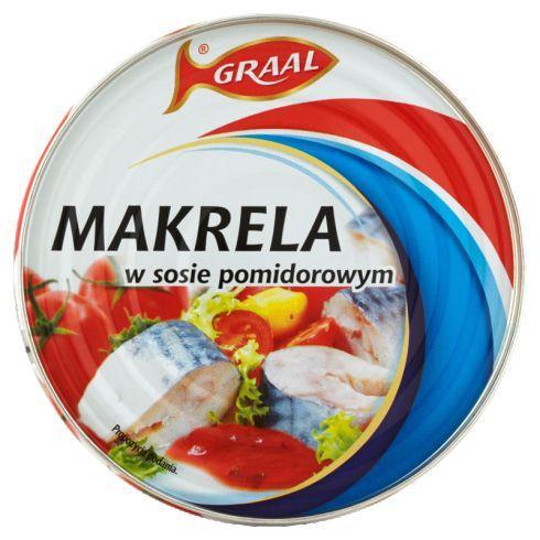 GRAAL Makrela w sosie pomidorowym 300 g