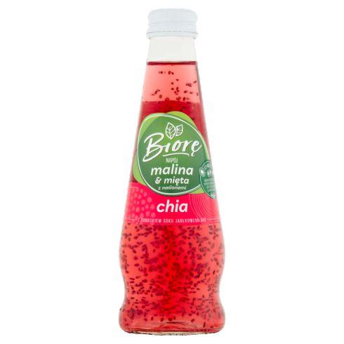 Biorę Napój malina & mięta z nasionami chia 225 ml