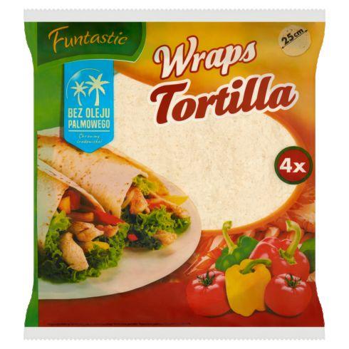 Funtastic Tortilla pszenna 250 g (4 x 62,5 g)