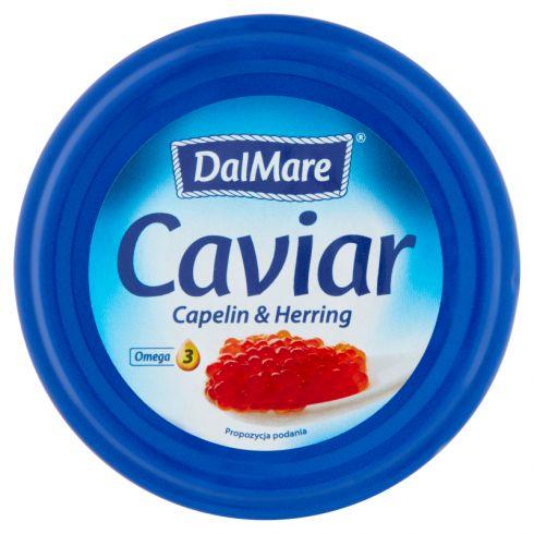 DalMare Czerwony kawior z ikry gromadnika i ikry śledzia 75 g