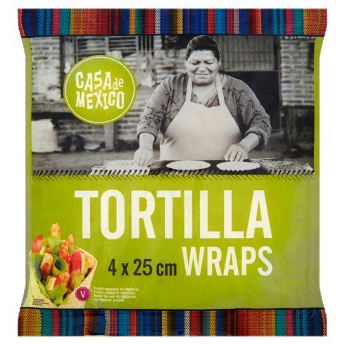 Casa de Mexico Tortilla wrap 25 cm 240 g (4 sztuki)
