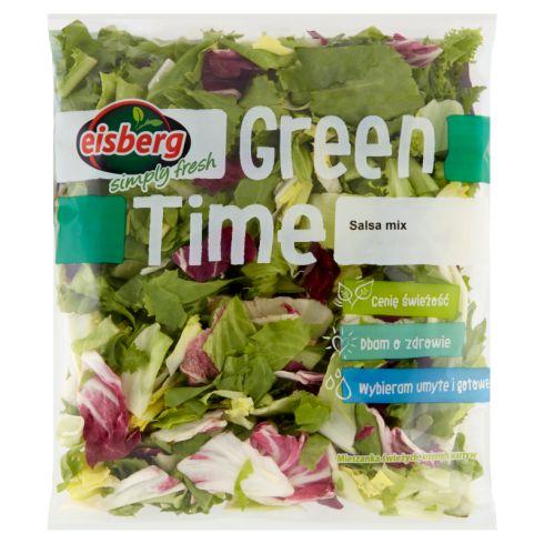 Eisberg Green Time Salsa mix Mieszanka świeżych krojonych warzyw 180 g