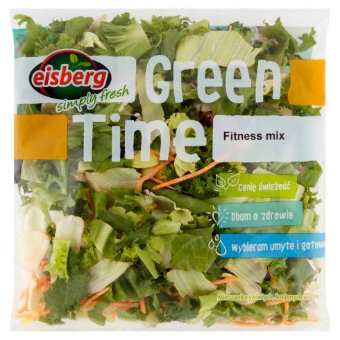 Eisberg Green Time Fitness mix Mieszanka świeżych krojonych warzyw 200 g