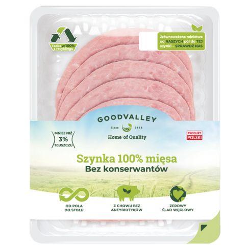 Goodvalley Szynka 100% mięsa 100 g