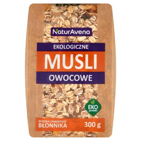 NaturAvena Ekologiczne musli owocowe 300 g