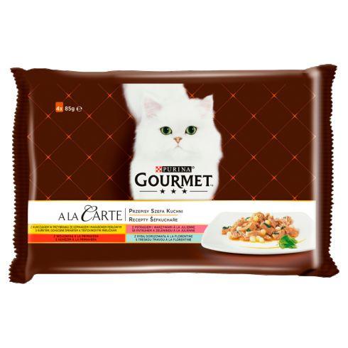 Gourmet A la Carte Karma dla kotów kolekcja przepisów szefa kuchni 340 g
