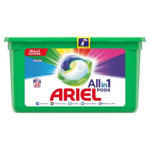 Ariel Allin1 Pods Color Kapsułki do prania, 33 prań