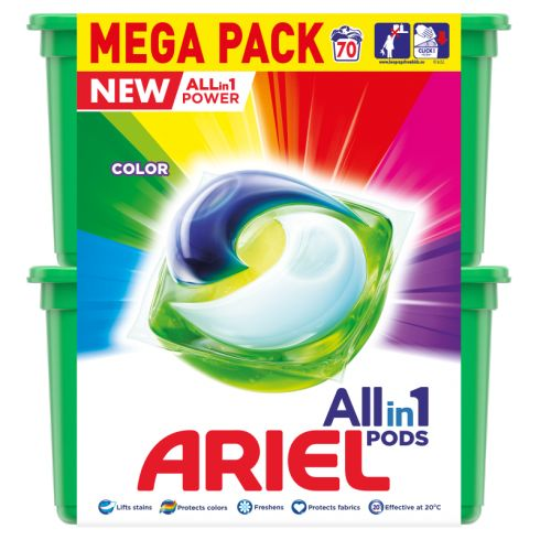 Ariel Allin1 Pods Color Kapsułki do prania, 70 prań