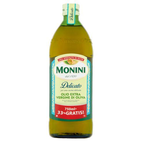 Monini Delicato Oliwa z oliwek najwyższej jakości z pierwszego tłoczenia 1000 ml