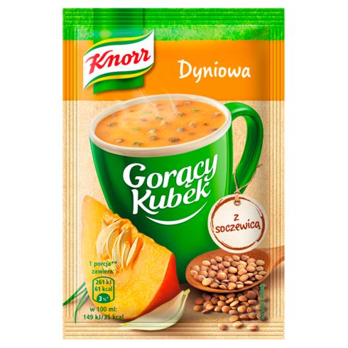 Knorr Gorący Kubek Dyniowa z soczewicą 22 g