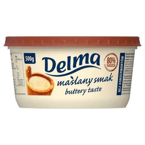 Delma Margaryna o maślanym smaku 500 g