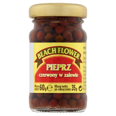 Beach Flower Pieprz czerwony w zalewie 60 g