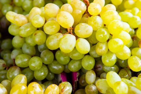 winogrona jasne słodkie i soczyste